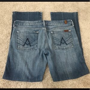 7 For All ManKind A Pocket Jeans Size 32